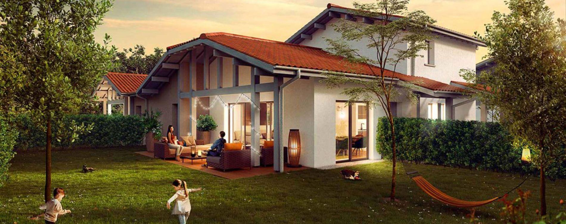 Soorts-Hossegor : programme immobilier neuve « Programme immobilier n°219043 » en Loi Pinel