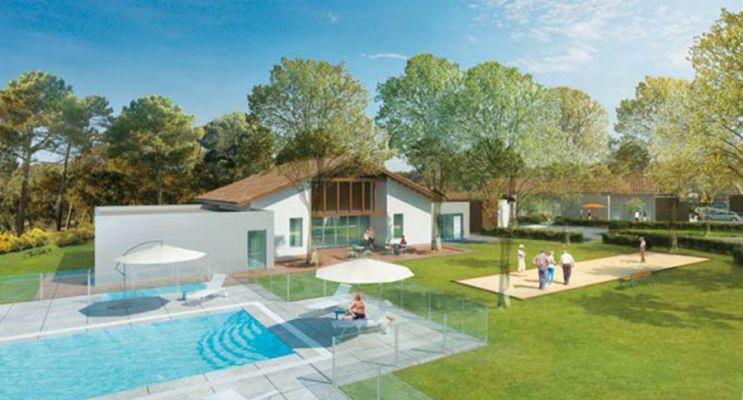 Photo du Résidence « Les Senioriales de Soustons » programme immobilier neuf à Soustons