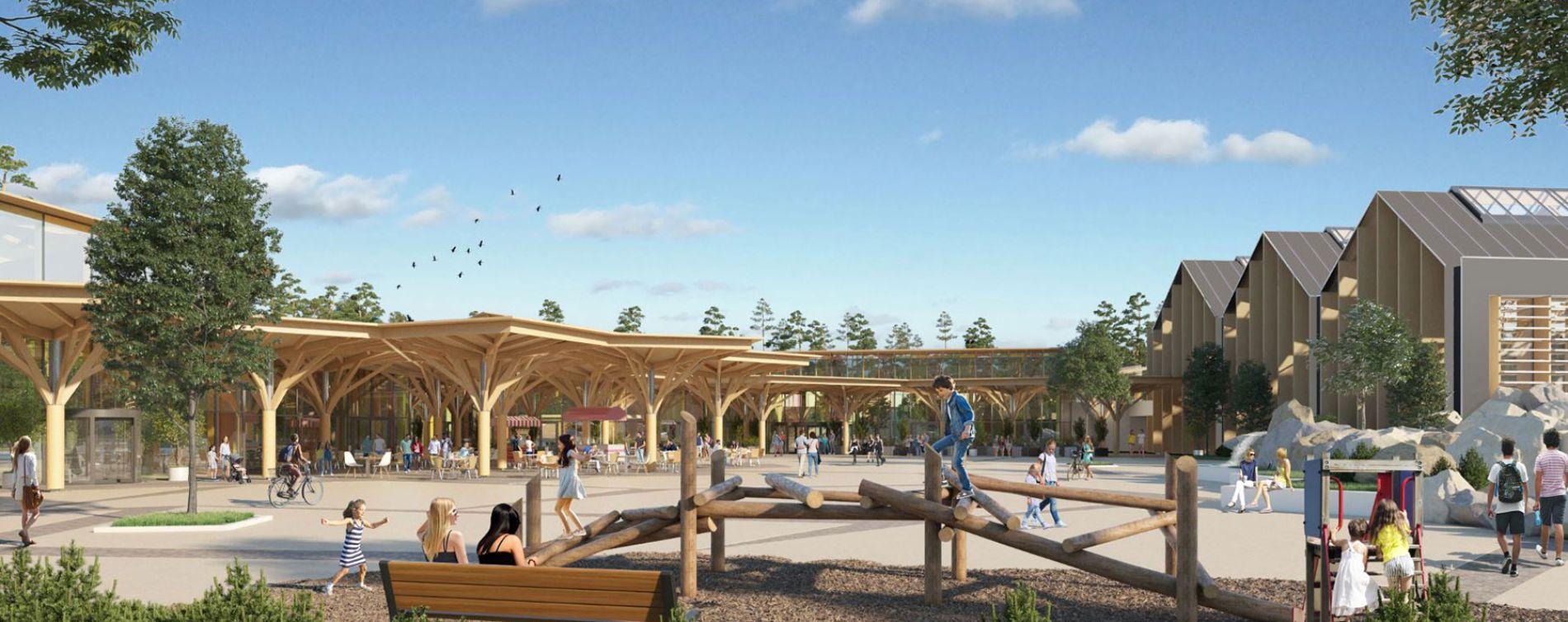 Beauziac : programme immobilier neuve « Center Parcs Landes de Gascogne »