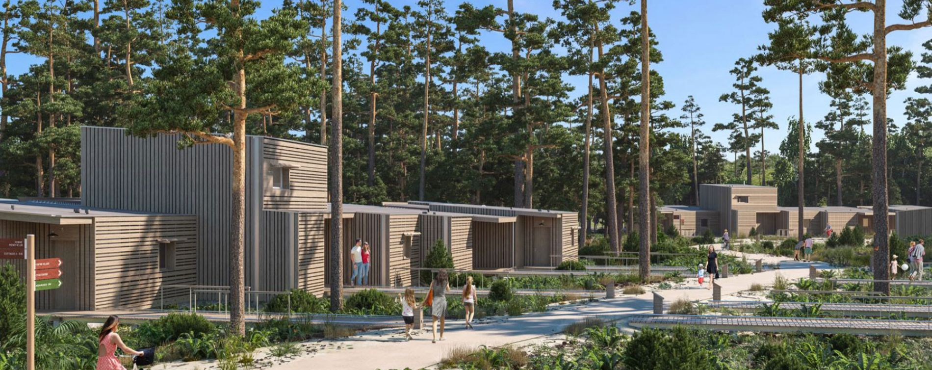 Beauziac : programme immobilier neuve « Center Parcs Landes de Gascogne » (3)