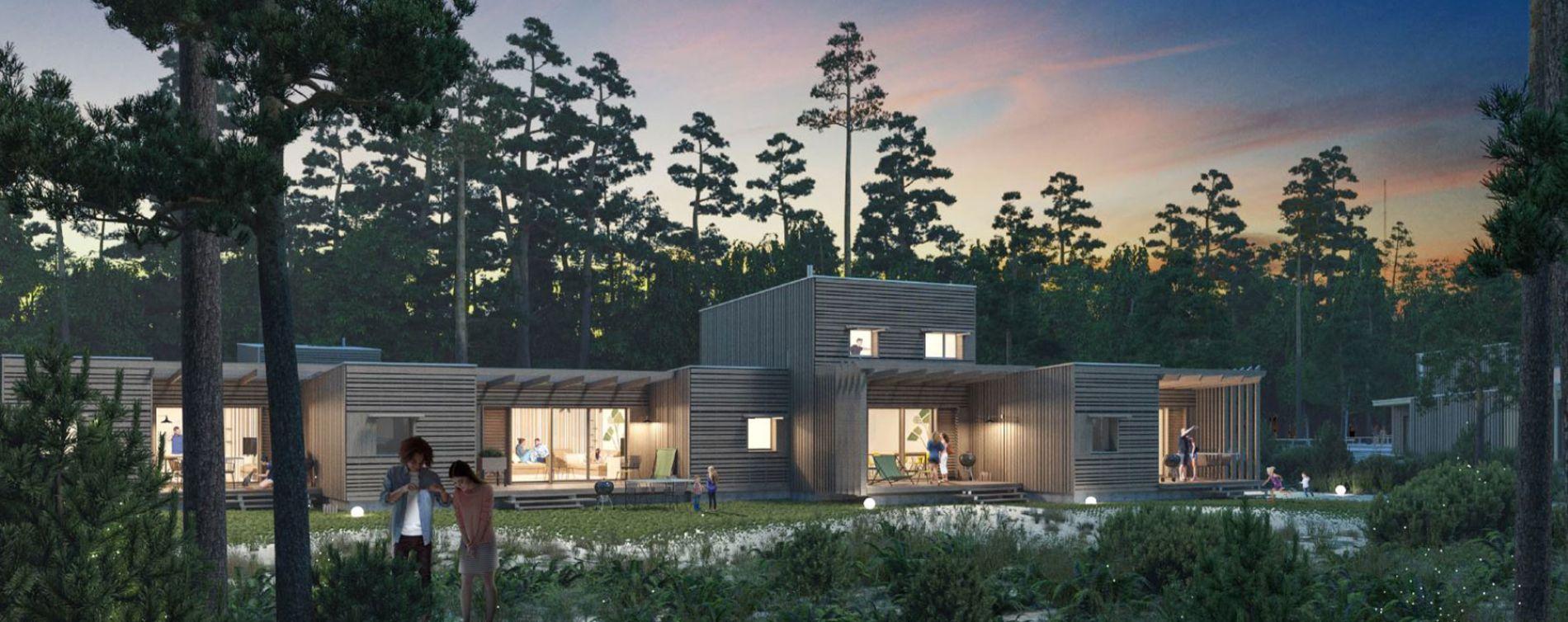 Beauziac : programme immobilier neuve « Center Parcs Landes de Gascogne » (5)