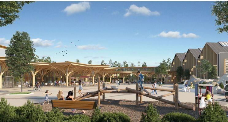 Photo du Résidence « Center Parcs Landes de Gascogne » programme immobilier neuf à Beauziac