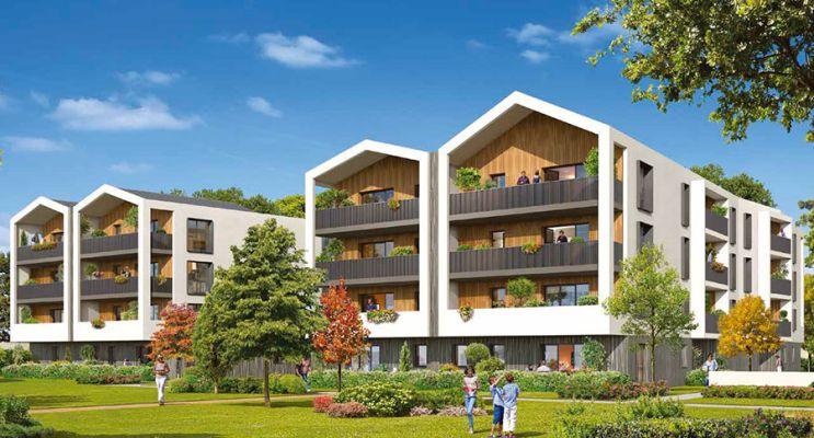Résidence « Domaine Des Dryades » programme immobilier neuf en Loi Pinel à Anglet n°1