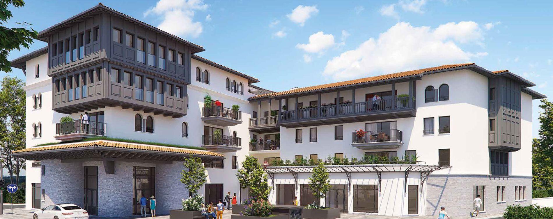 Anglet : programme immobilier neuve « Programme immobilier n°217996 » en Loi Pinel