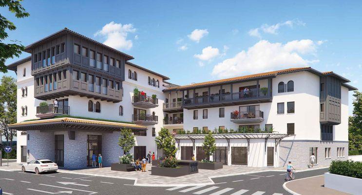 Anglet : programme immobilier neuf «  n°217996 » en Loi Pinel