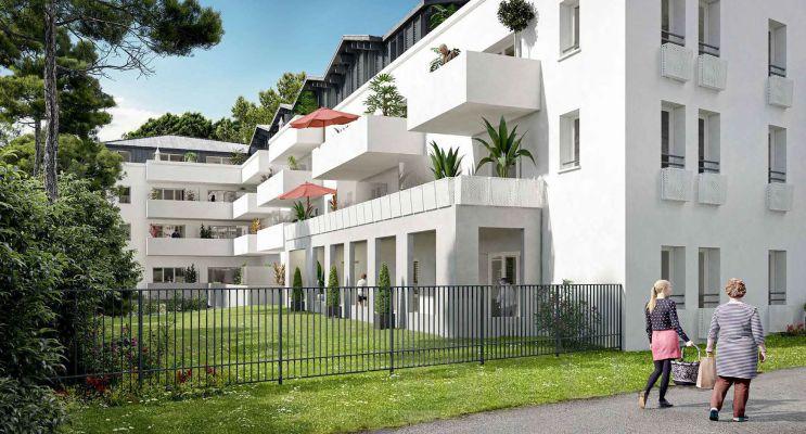 Anglet : programme immobilier neuf « Résidence Amatigà »