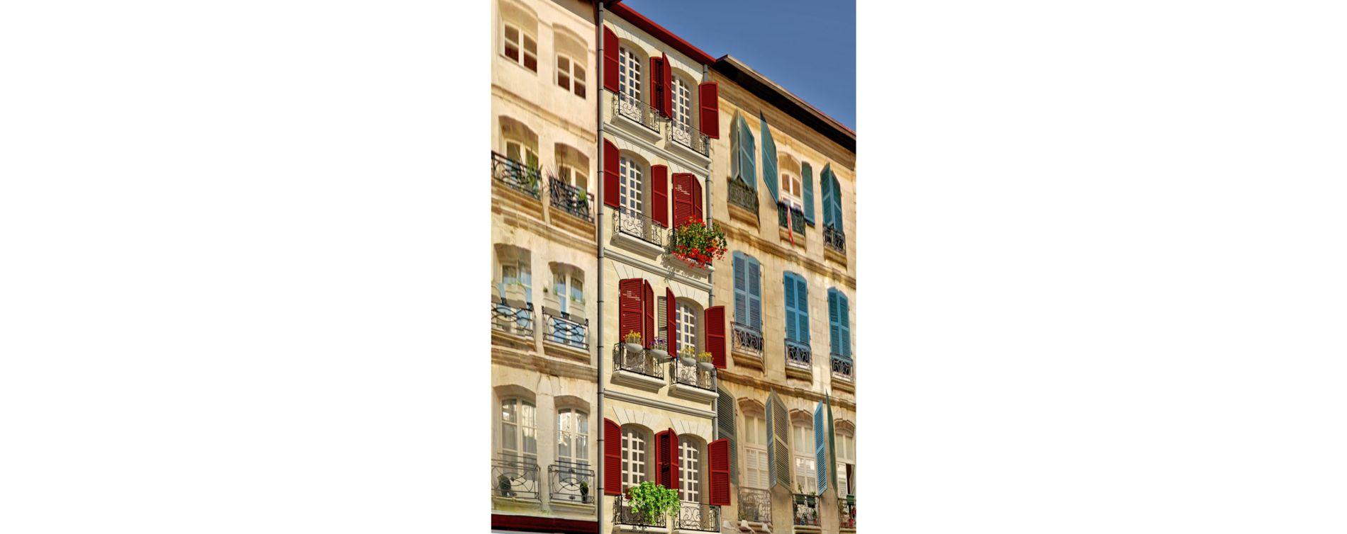 Bayonne : programme immobilier à rénover « 32 Rue d'Espagne » en Loi Malraux