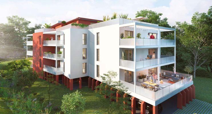 Photo du Résidence « Etche Beyris » programme immobilier neuf à Bayonne
