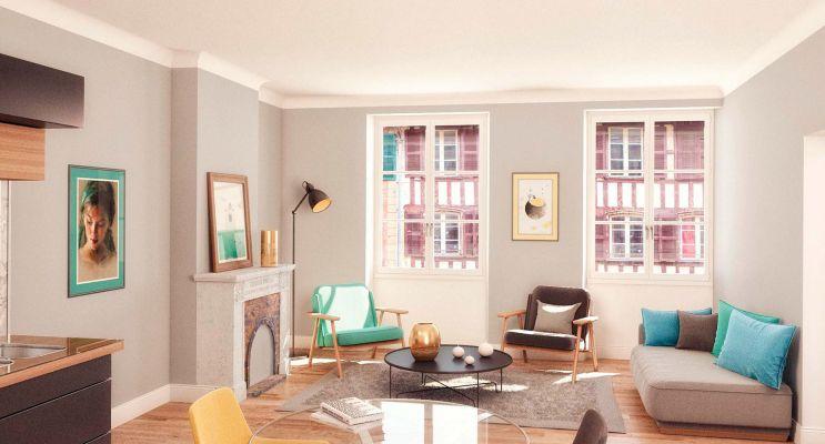 Photo du Résidence « Pannecau » programme immobilier neuf à Bayonne