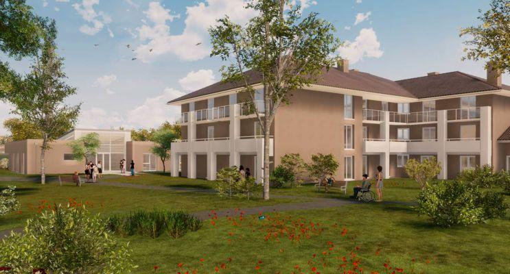 Photo du Résidence « DOMIDEP Les Colchiques » programme immobilier neuf à Bordes