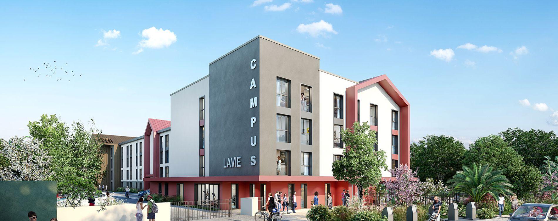 Résidence Campus Lavie à Pau