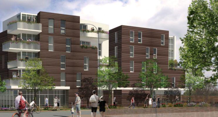 Photo du Résidence « Le Fokus » programme immobilier neuf à Pau