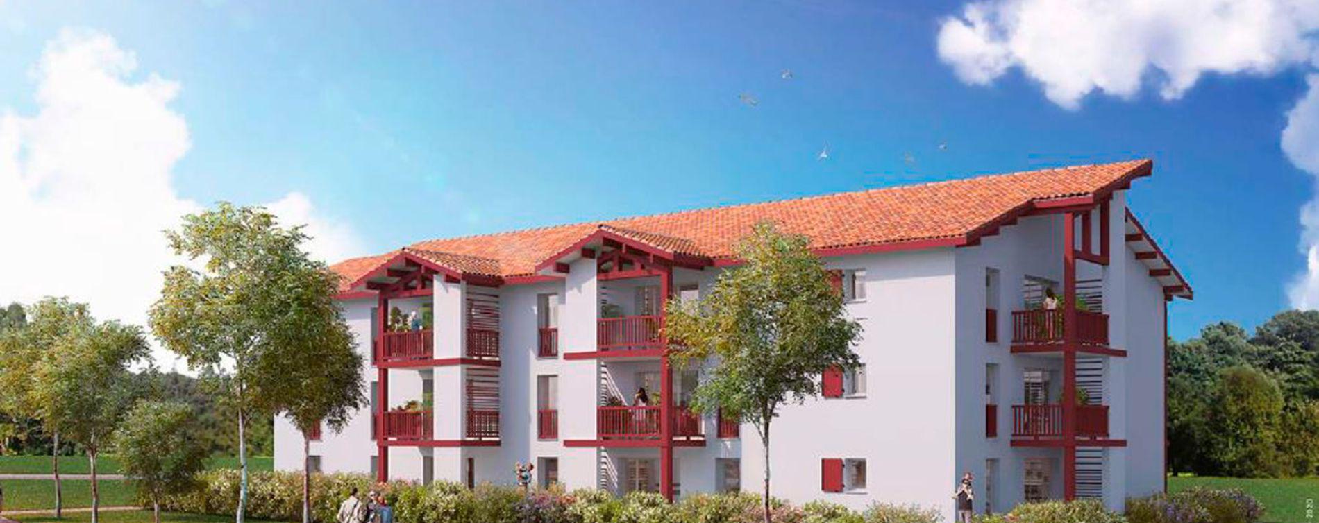 Saint-Palais : programme immobilier neuve « Iturria »