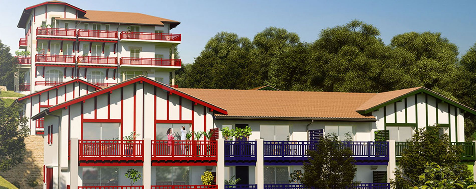Urrugne : programme immobilier neuve « Xori Kanta » en Loi Pinel