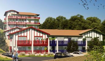 Photo du Résidence « Xori Kanta » programme immobilier neuf en Loi Pinel à Urrugne