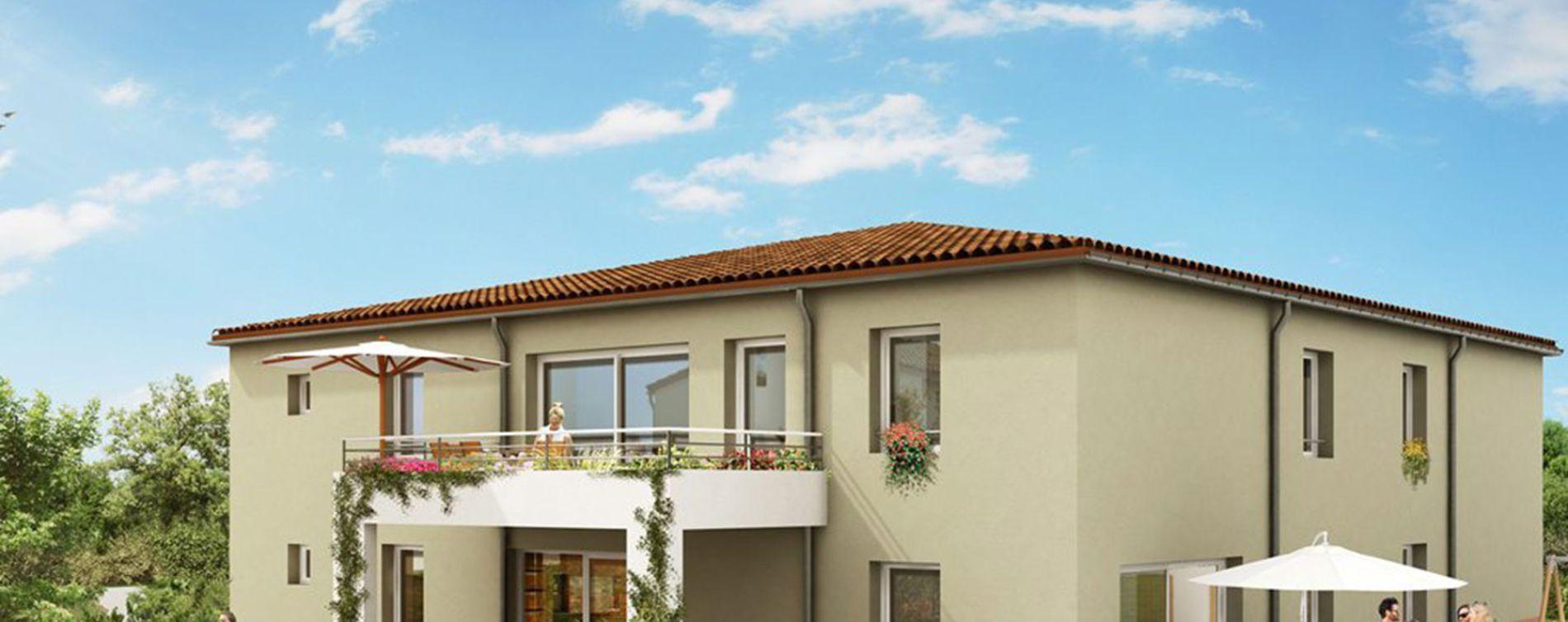 Buxerolles : programme immobilier neuve « Le Clos des Amandiers »