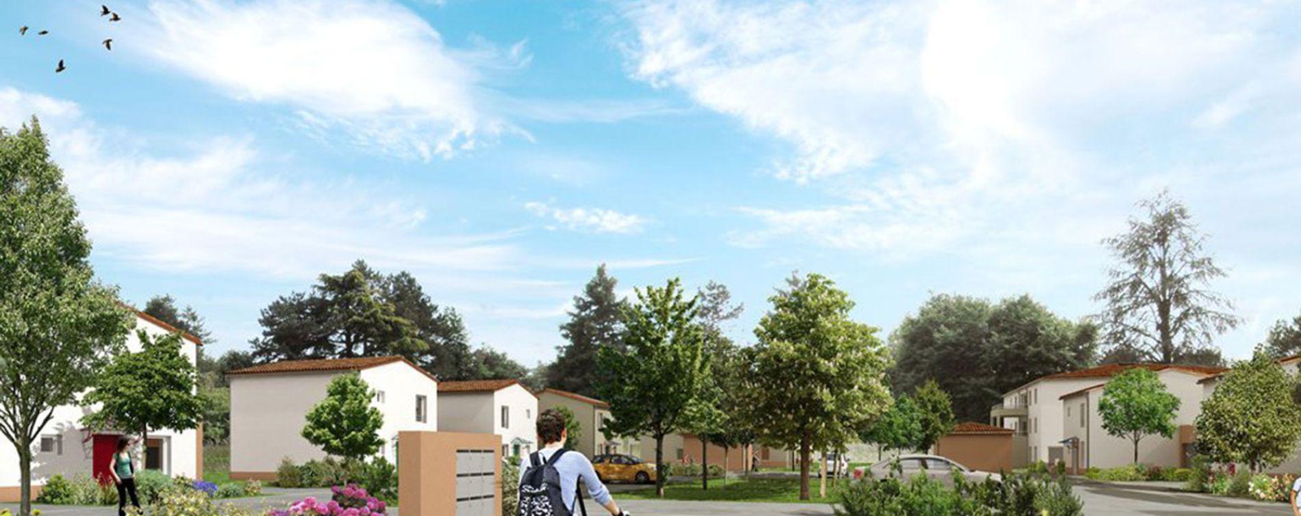 Buxerolles : programme immobilier neuve « Le Clos des Amandiers » (3)
