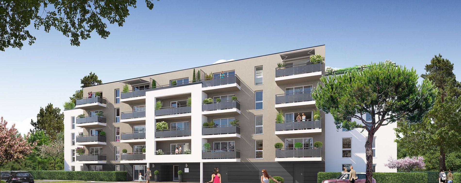 Poitiers : programme immobilier neuve « Jardins du Golf I » en Loi Pinel