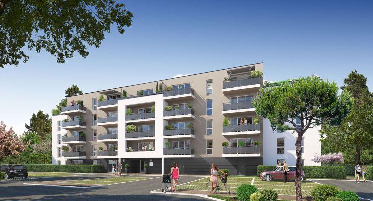 Poitiers programme immobilier neuf « Jardins du Golf I » en Loi Pinel