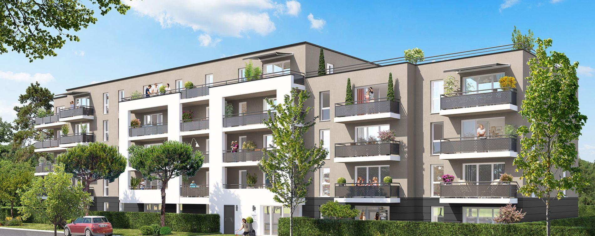 Poitiers : programme immobilier neuve « Jardins du Golf II » en Loi Pinel