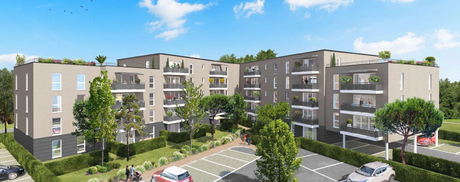 Poitiers : programme immobilier neuve « Jardins du Golf II » en Loi Pinel (2)