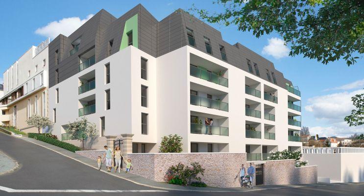 Photo du Résidence « Les Balcons du Rempart » programme immobilier neuf en Loi Pinel à Poitiers