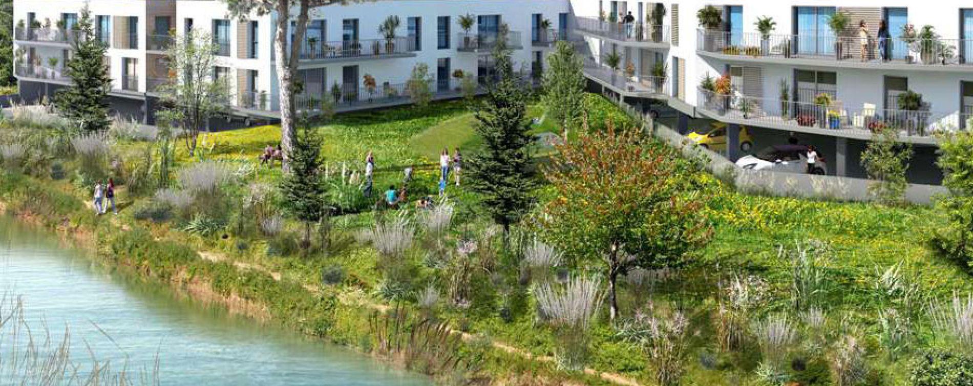 Aigues-Mortes : programme immobilier neuve « Le Mas Saint Louis »