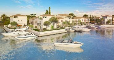 Aigues-Mortes programme immobilier neuf « Marina Corail »