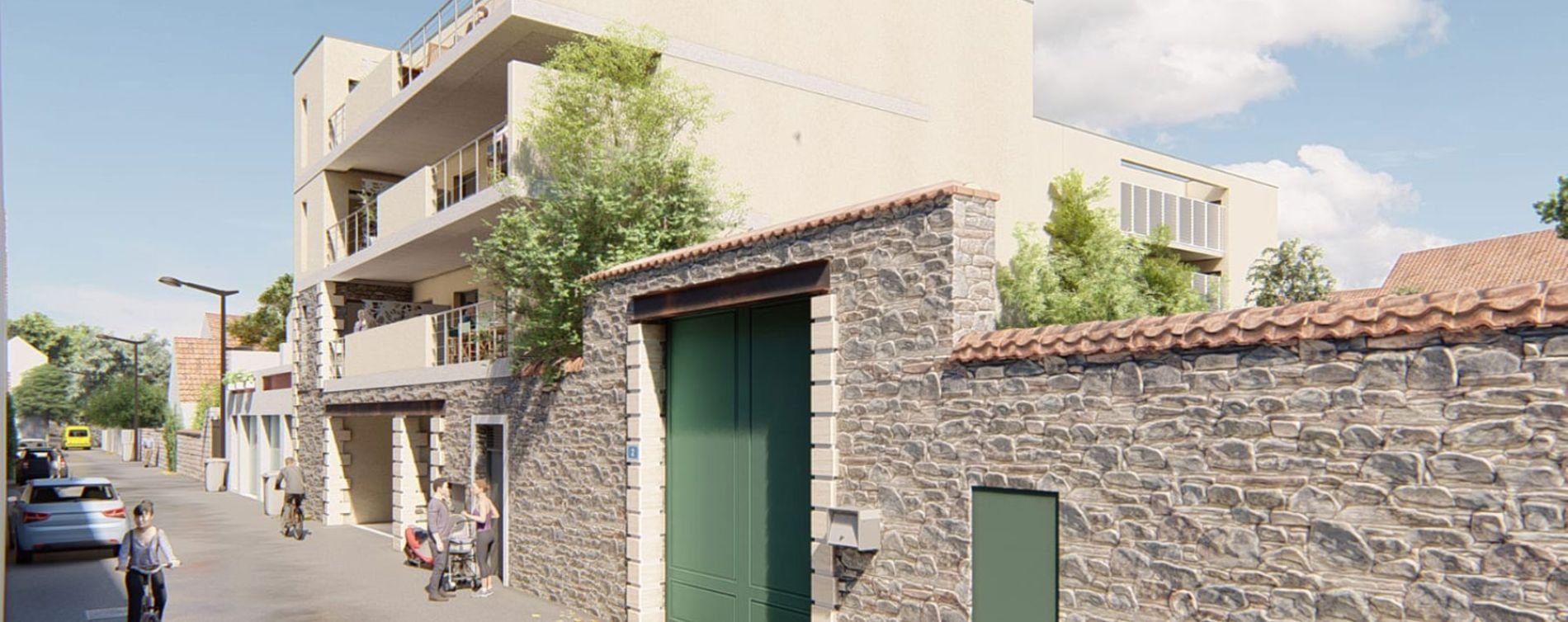 Aimargues : programme immobilier neuve « Le Clos Marcelin » en Loi Pinel