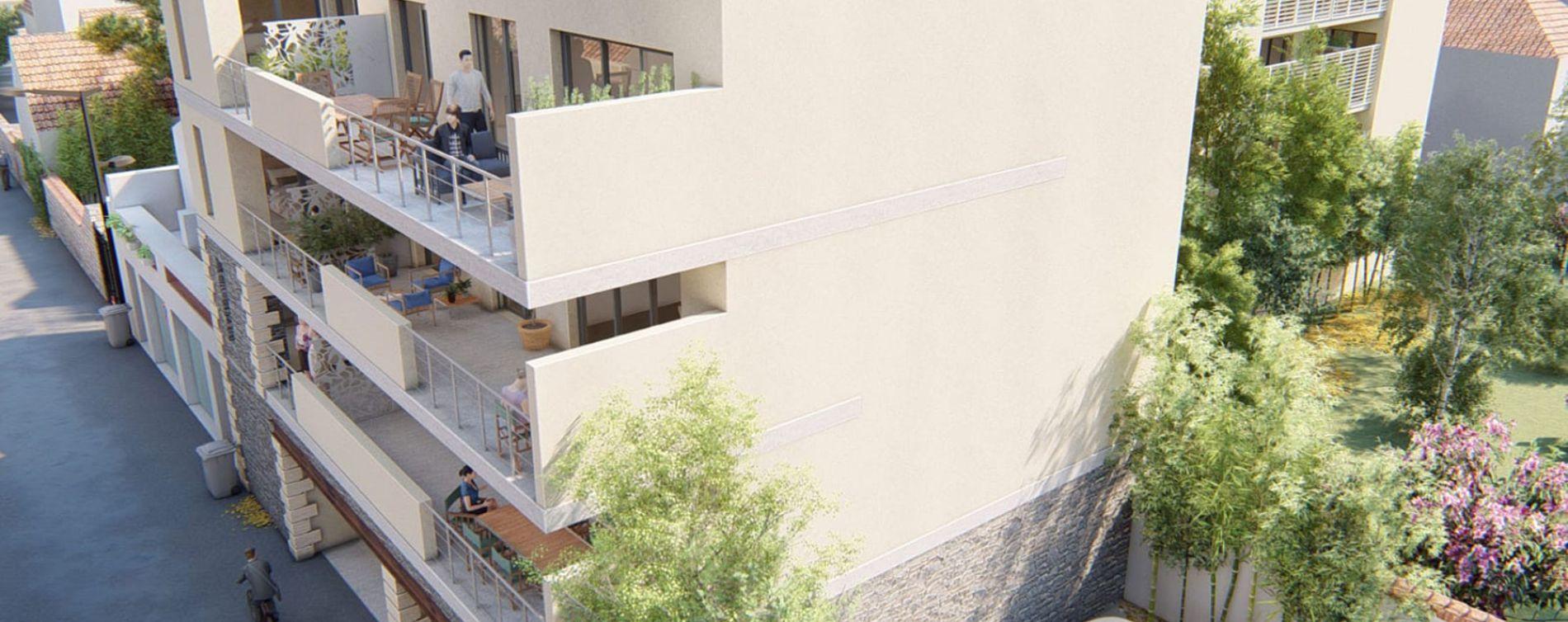 Aimargues : programme immobilier neuve « Le Clos Marcelin » en Loi Pinel (2)