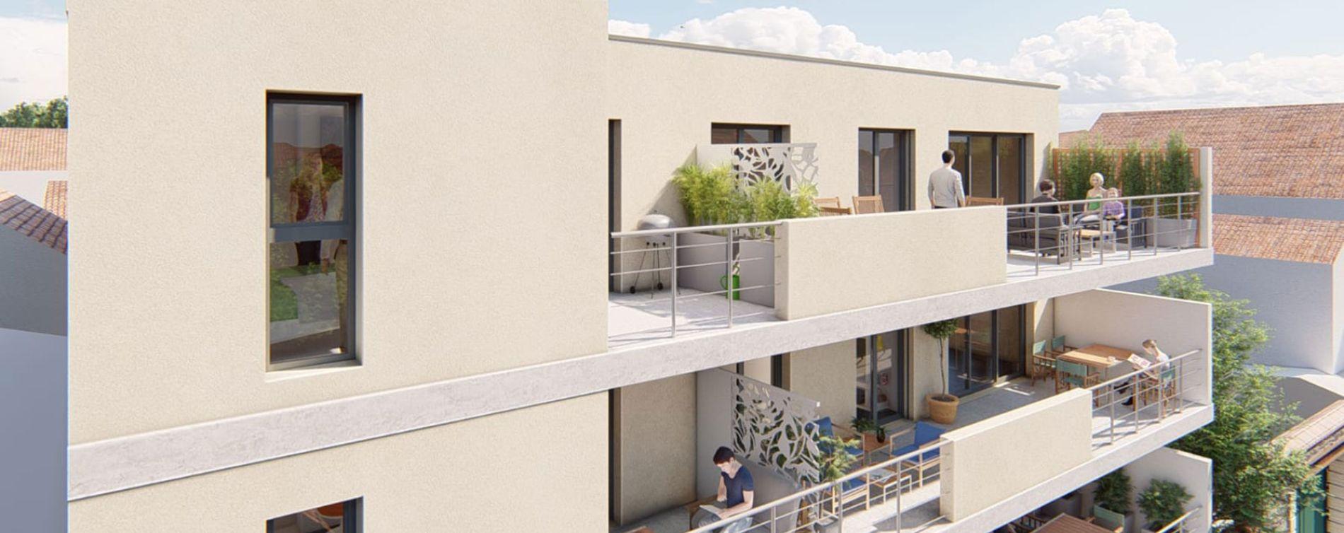 Aimargues : programme immobilier neuve « Le Clos Marcelin » en Loi Pinel (3)