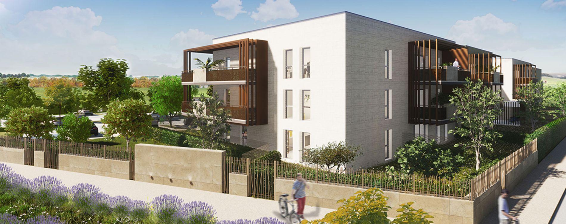 Garons : programme immobilier neuve « Le Verger des Farelles » en Loi Pinel