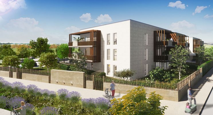 Garons : programme immobilier neuf « Le Verger des Farelles » en Loi Pinel