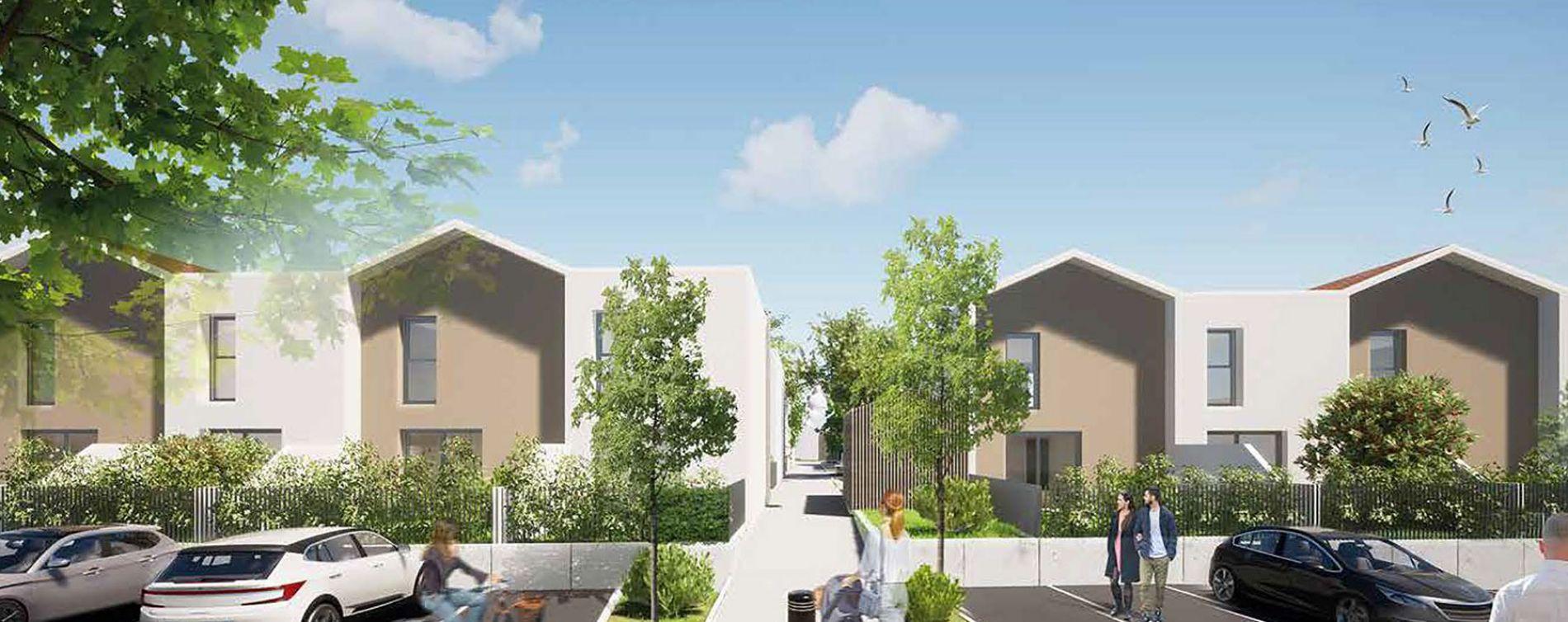 Marguerittes : programme immobilier neuve « Domaine Princesse » en Loi Pinel