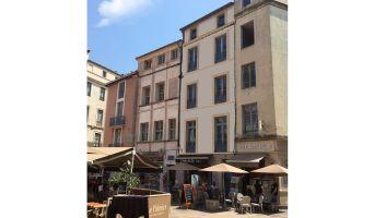 Photo du Résidence « 21 Place du Marché » programme immobilier à rénover en Loi Malraux à Nîmes