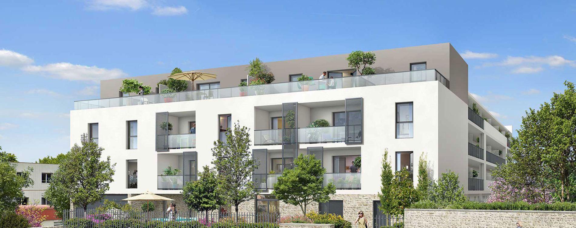 Nîmes : programme immobilier neuve « Anagia » en Loi Pinel
