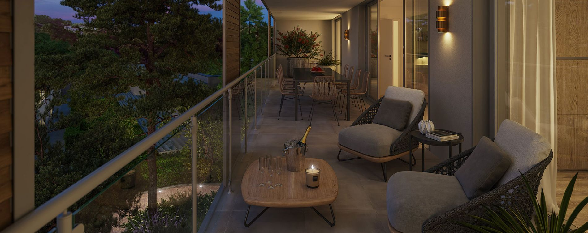 Nîmes : programme immobilier neuve « Domaine de la Pinède » en Loi Pinel