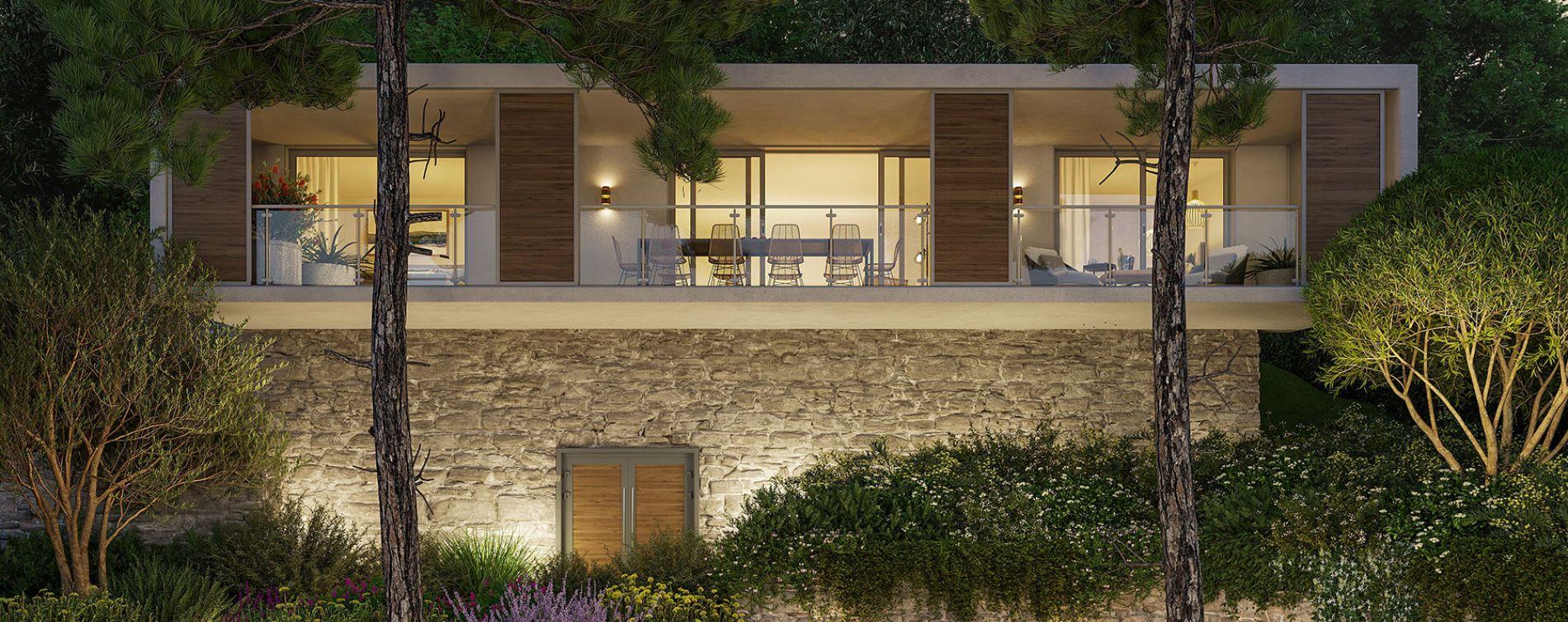 Nîmes : programme immobilier neuve « Domaine de la Pinède » en Loi Pinel (2)