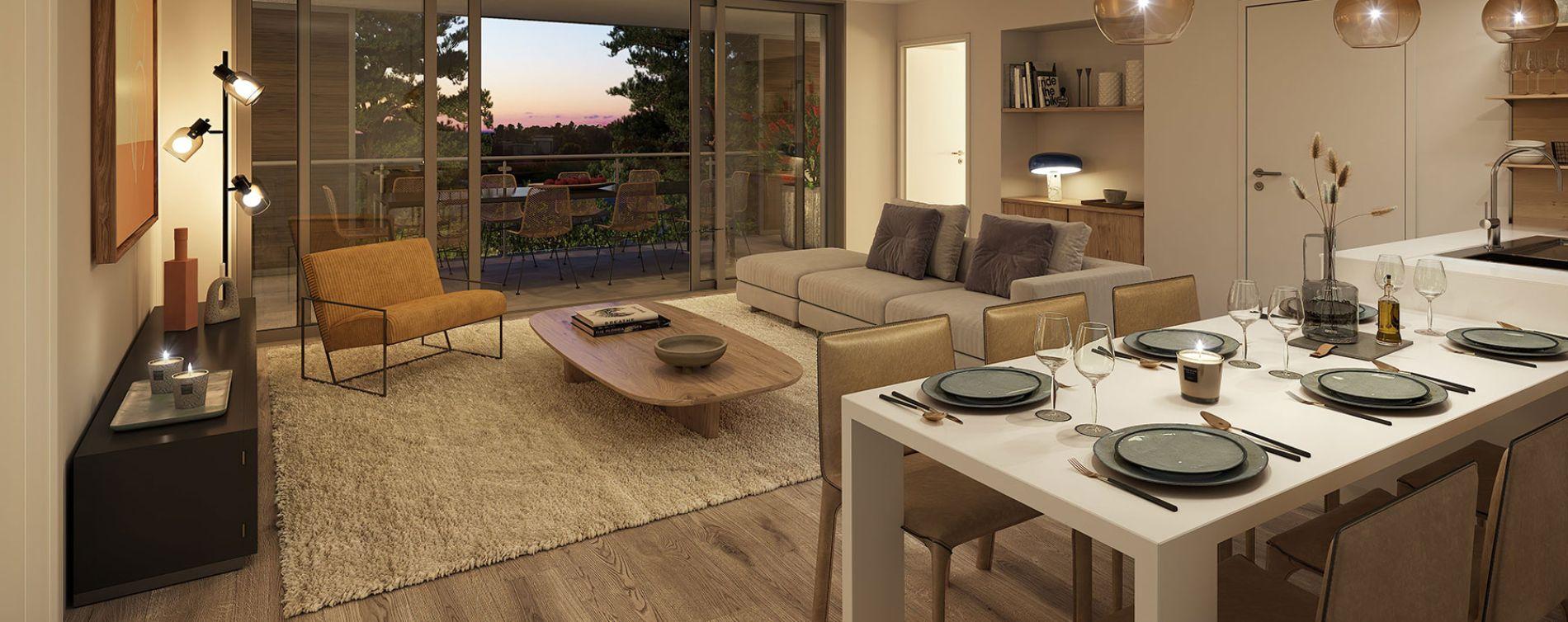 Nîmes : programme immobilier neuve « Domaine de la Pinède » en Loi Pinel (3)