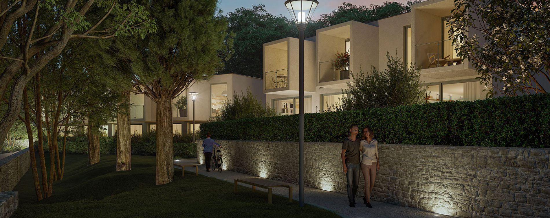 Nîmes : programme immobilier neuve « Domaine de la Pinède » en Loi Pinel (4)