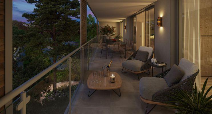 Nîmes programme immobilier neuf « Domaine de la Pinède