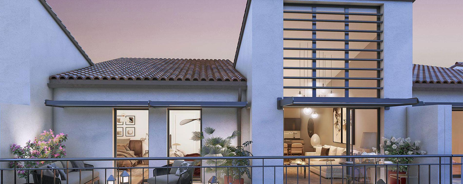 Nîmes : programme immobilier neuve « Écrin des Arts » en Loi Pinel (2)