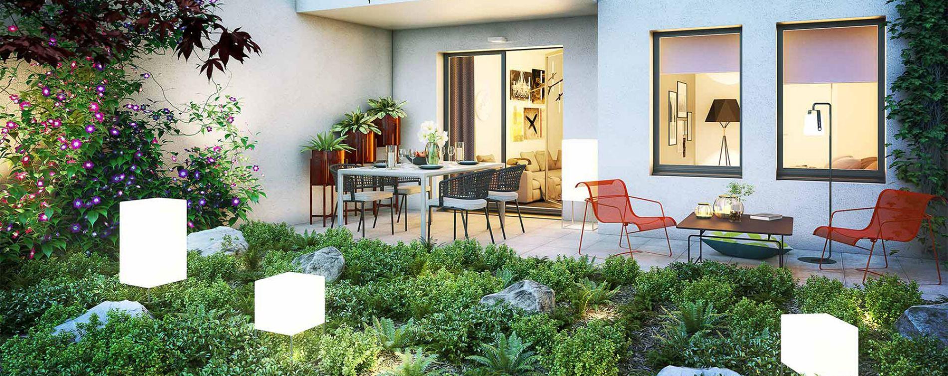 Nîmes : programme immobilier neuve « Écrin des Arts » en Loi Pinel (3)
