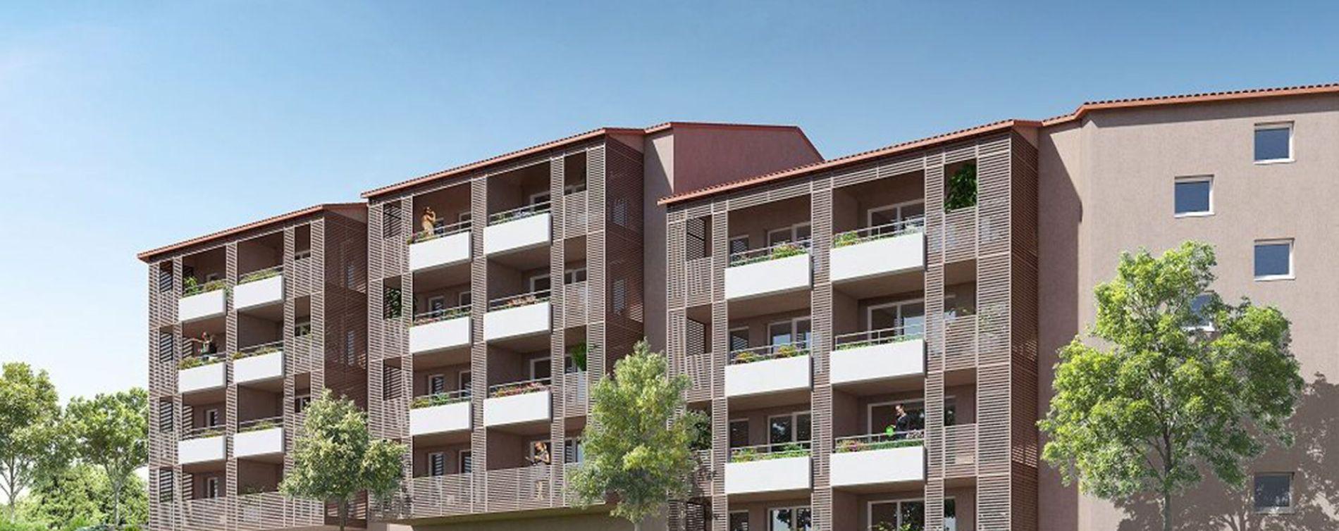 Nîmes : programme immobilier neuve « Eklo »
