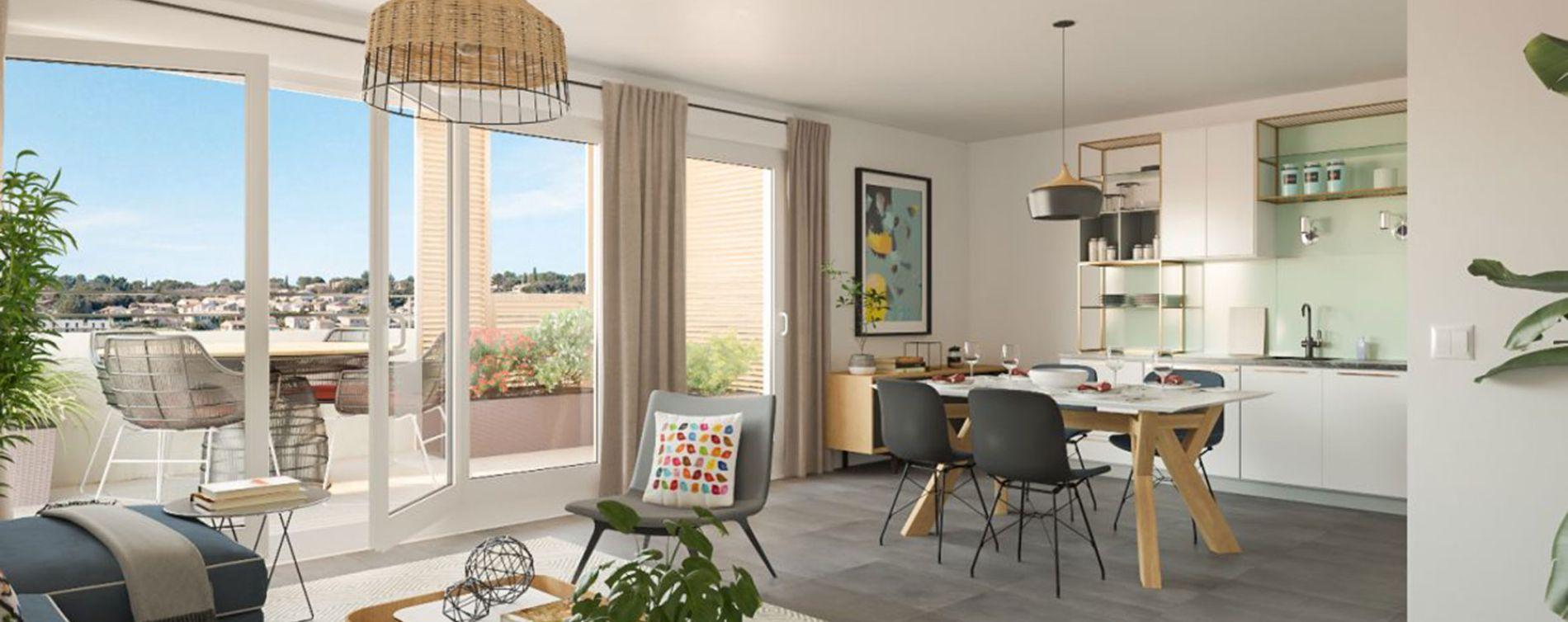 Nîmes : programme immobilier neuve « Eklo » (2)