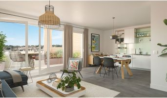 Nîmes programme immobilier neuve « Eklo »  (2)