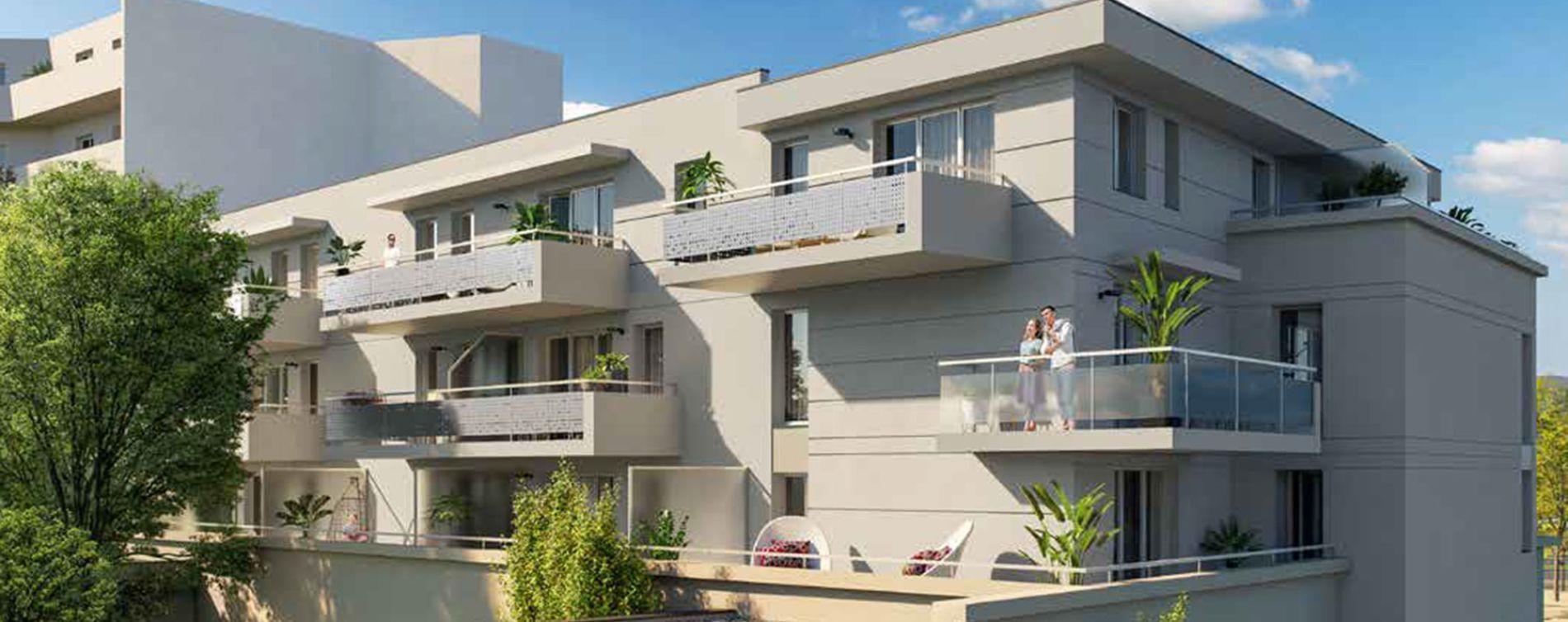 Nîmes : programme immobilier neuve « Evasion 2 »