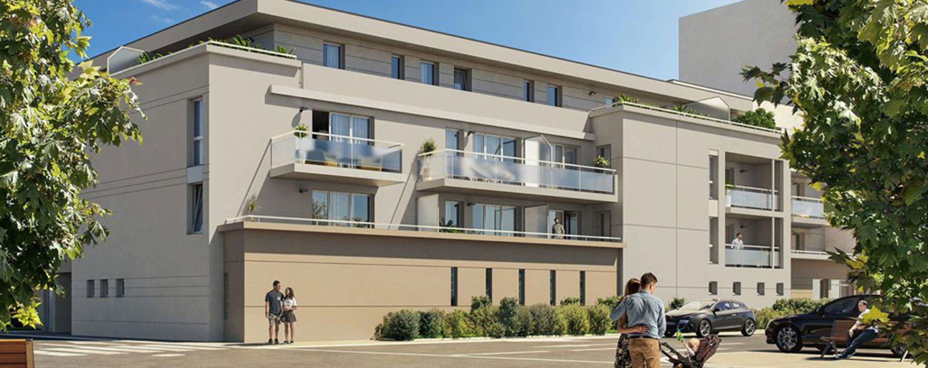 Nîmes : programme immobilier neuve « Evasion 2 » (2)