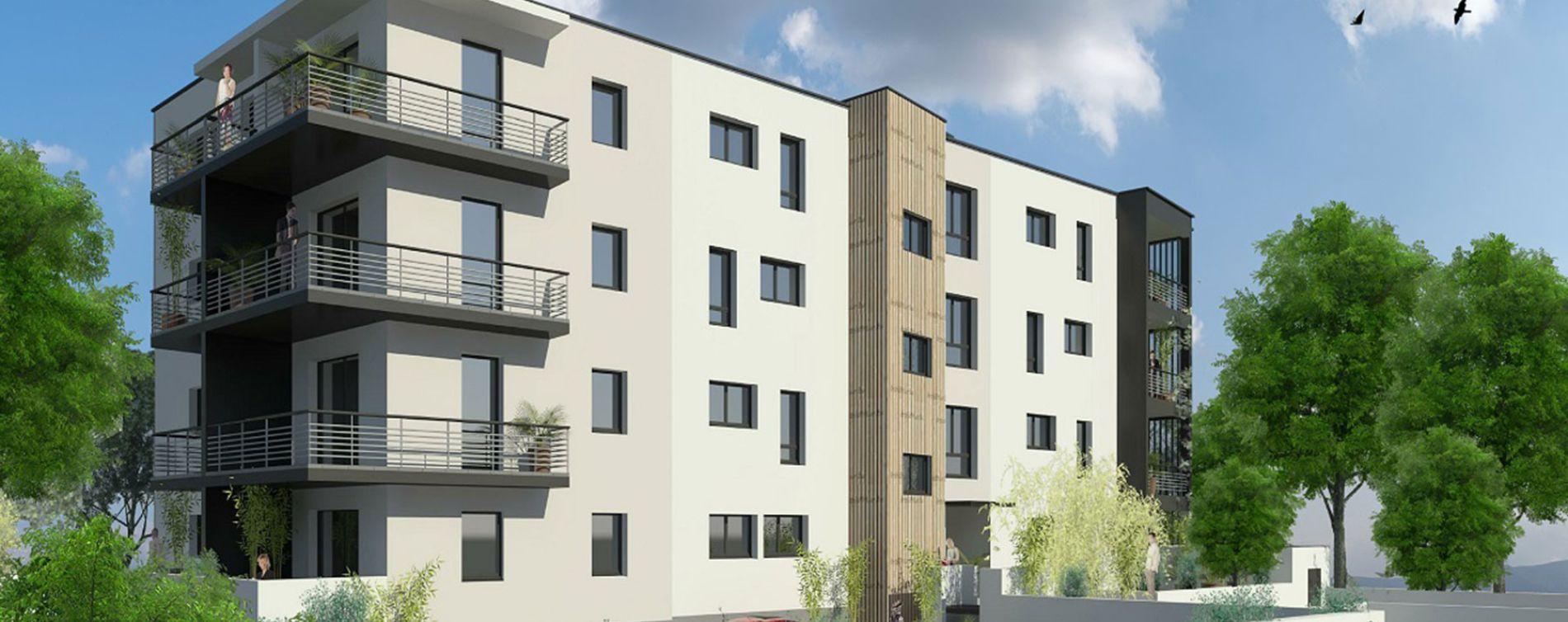 Nîmes : programme immobilier neuve « Ginkgo »