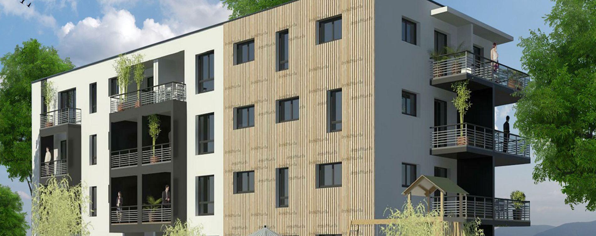 Nîmes : programme immobilier neuve « Ginkgo » (2)